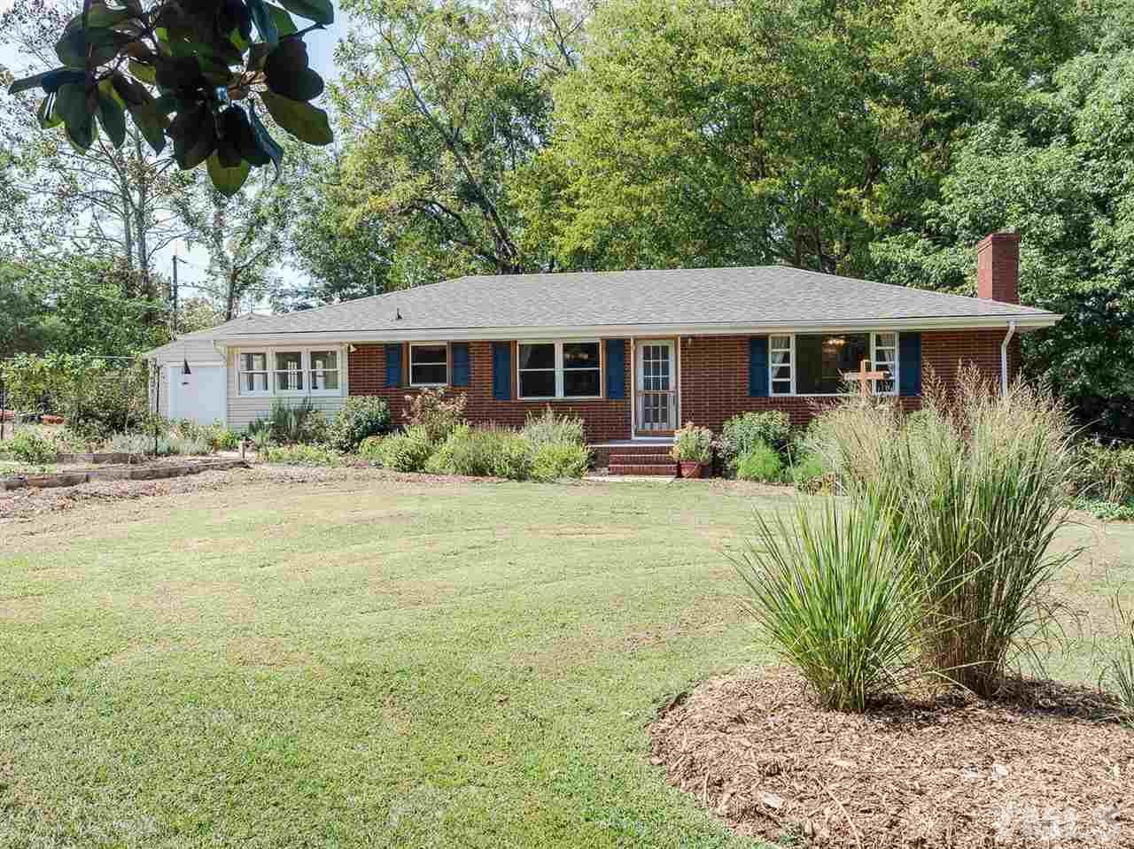 Photo of home for sale at 9629 Fonville Road, Wake Forest NC