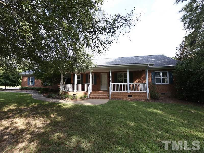 Photo of home for sale at 7401 Holly Springs Road, Raleigh NC