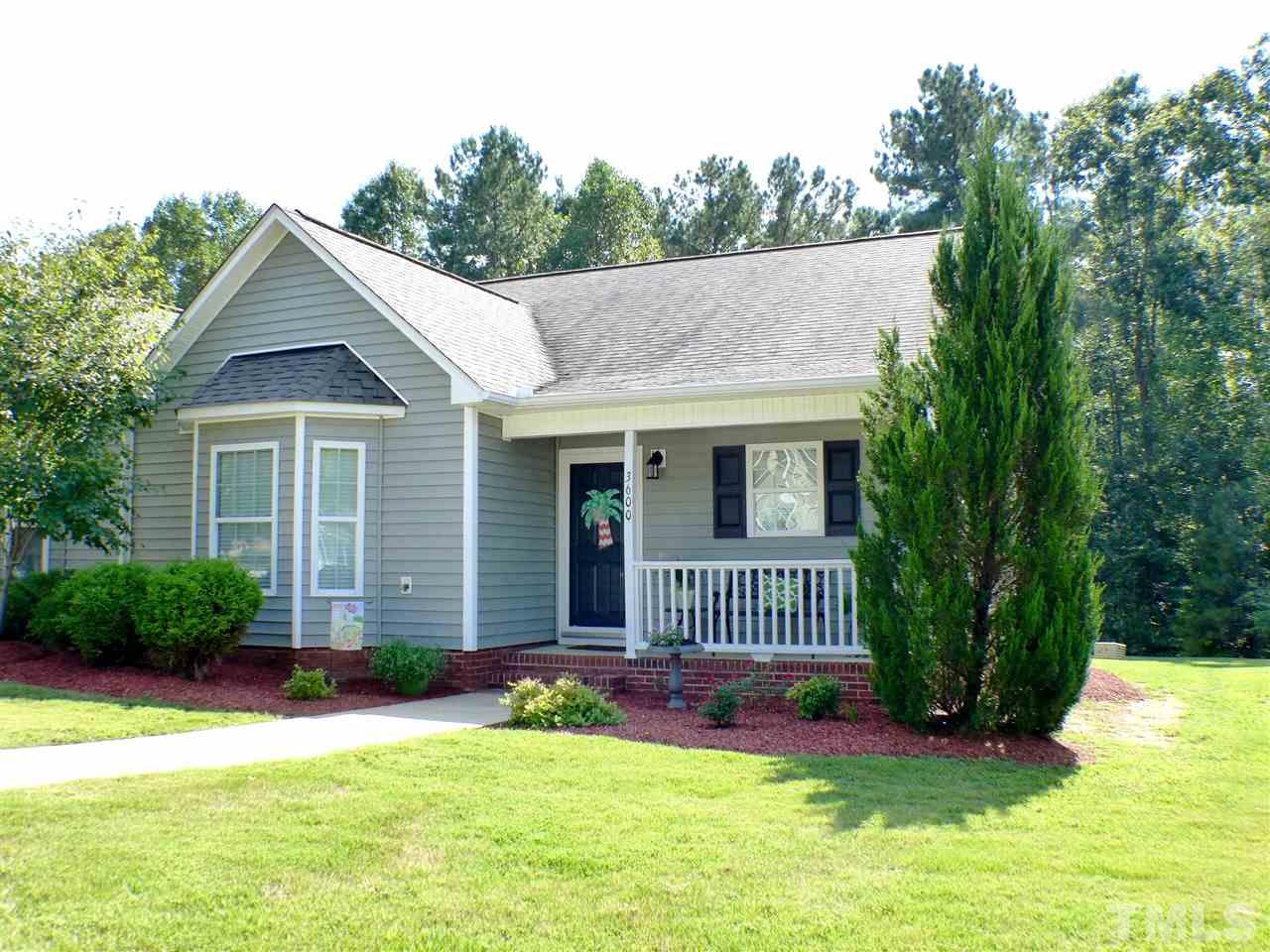 Photo of home for sale at 3600 Cotton Gin Drive E, Clayton NC