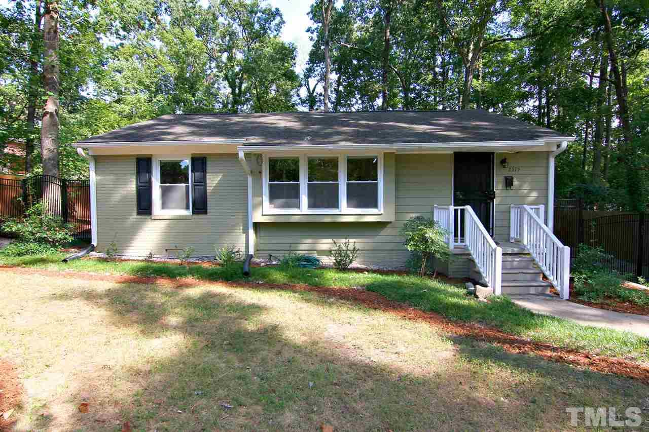 Photo of home for sale at 2375 Stevens Road, Raleigh NC