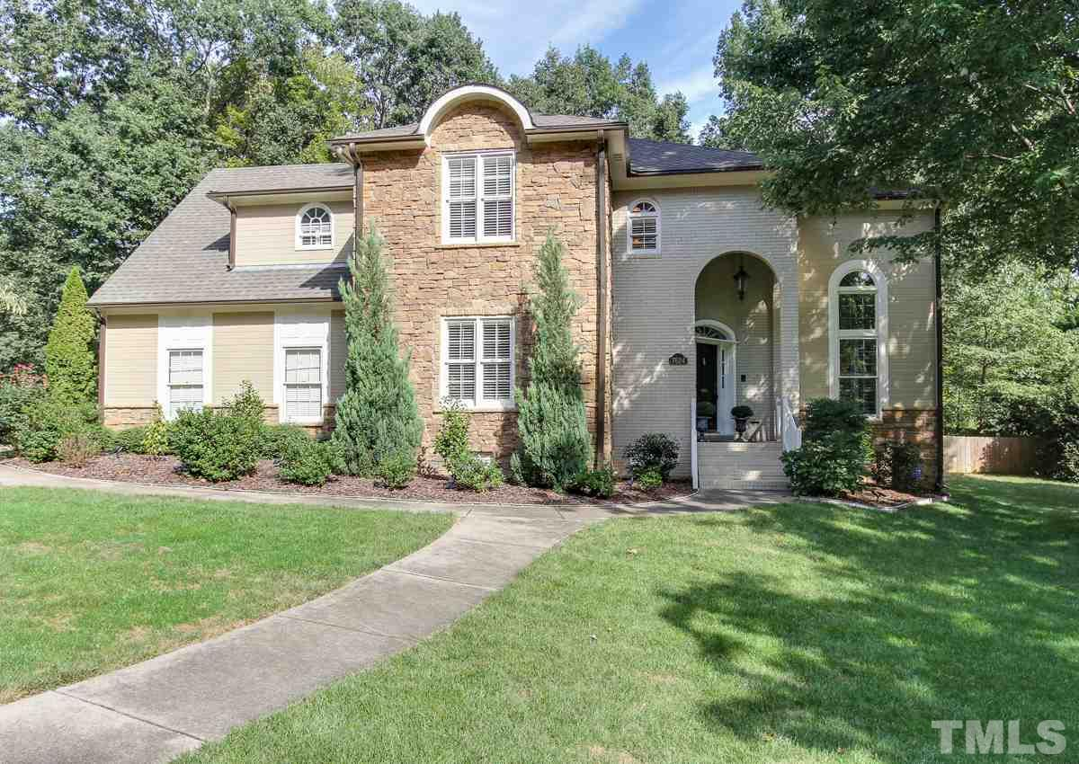 Photo of home for sale at 7624 Wingfoot Drive, Raleigh NC