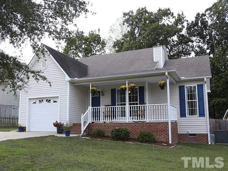 Photo of home for sale at 4509 Pintail Court, Raleigh NC