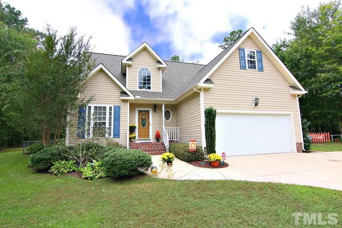Photo of home for sale at 155 Lumberjack Lane, Louisburg NC