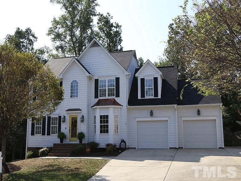 Photo of home for sale at 25 Garden Hills Court, Durham NC