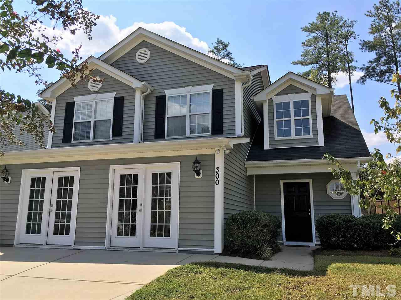 Photo of home for sale at 300 Braxman Lane, Holly Springs NC