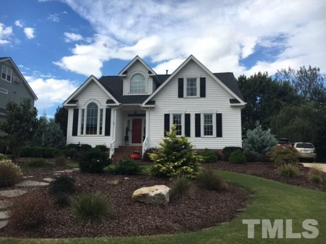 Photo of home for sale at 1104 Brittley Way, Apex NC