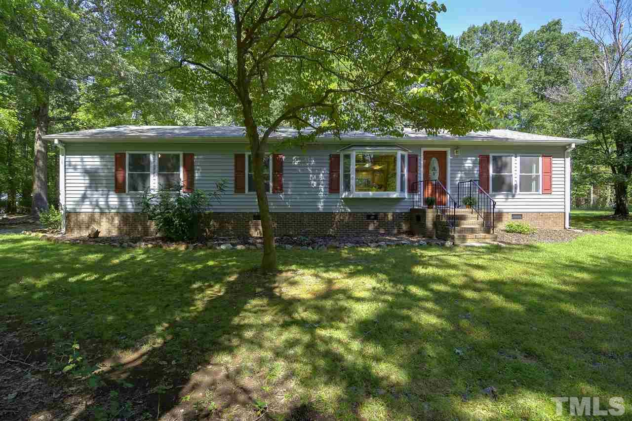 Photo of home for sale at 4449 Murphy School Road, Durham NC