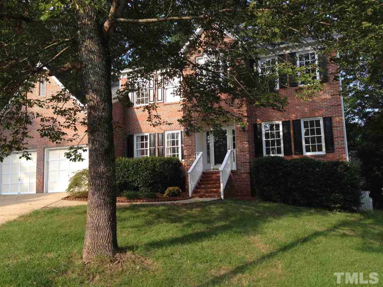 Photo of home for sale at 105 Queens Knoll Court, Cary NC