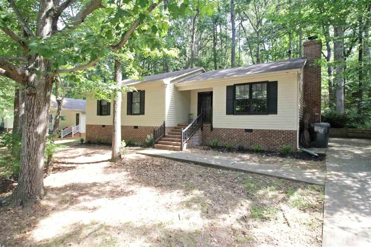 Photo of home for sale at 7420 Post Oak Road, Raleigh NC