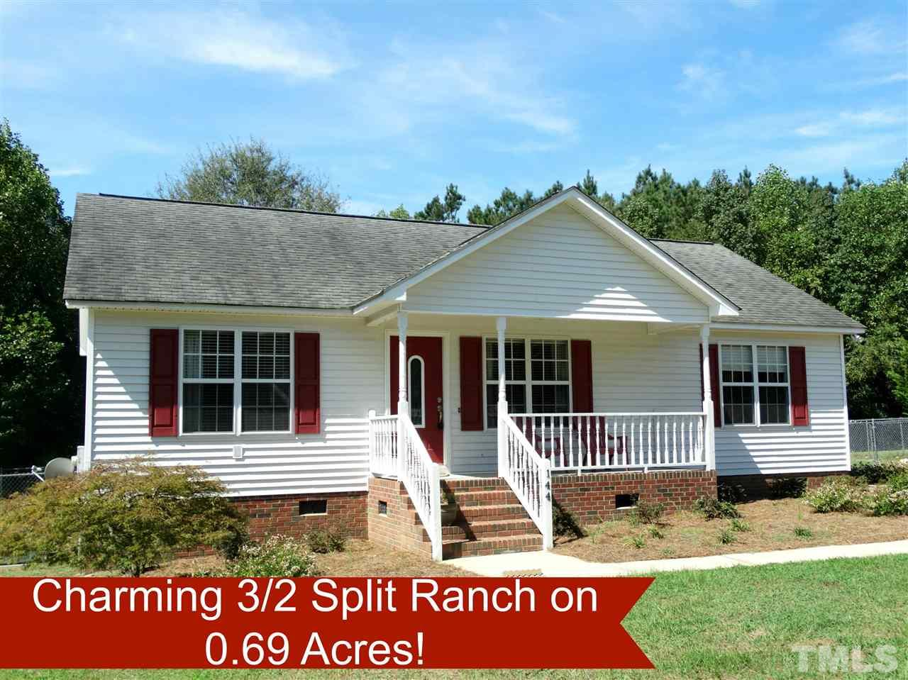 Photo of home for sale at 144 Sommerset Drive, Clayton NC