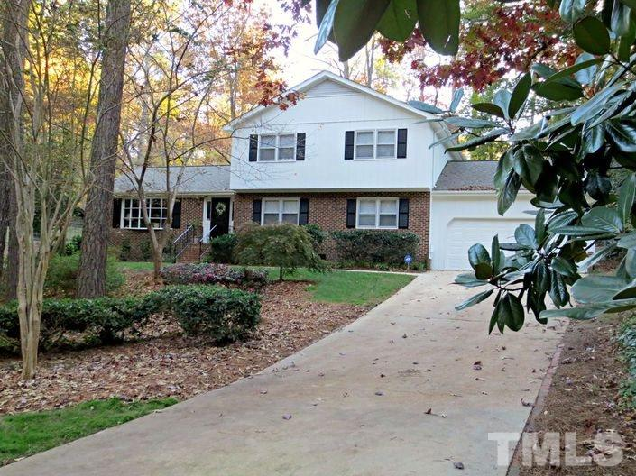 Photo of home for sale at 4105 Weaver Drive, Raleigh NC