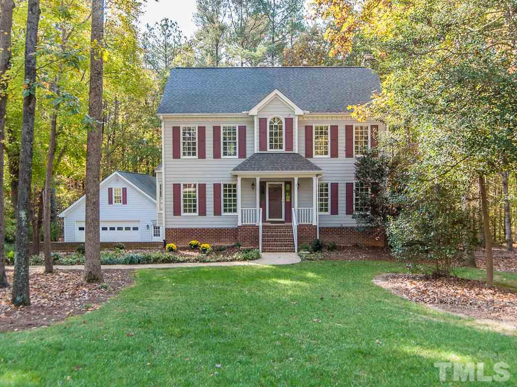 Photo of home for sale at 7604 Copper Creek Court, Wake Forest NC