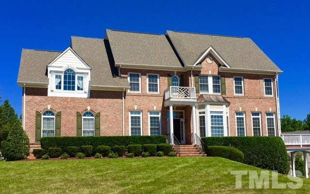 Photo of home for sale at 2317 Carriage Oaks Drive, Raleigh NC