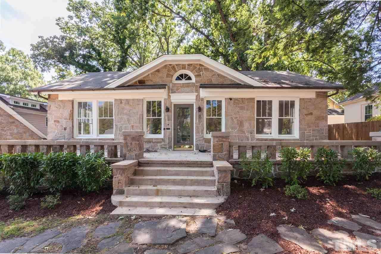 Photo of home for sale at 2204 Byrd Street, Raleigh NC