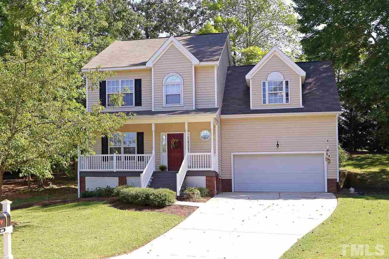 Photo of home for sale at 104 Wintersage Court, Holly Springs NC