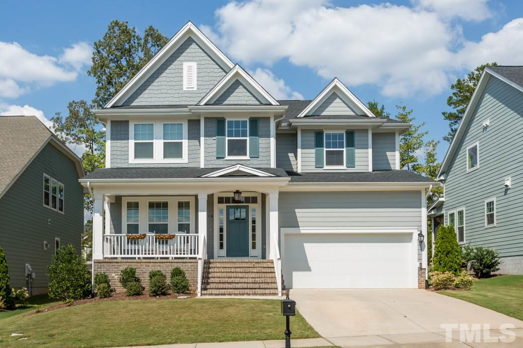 Photo of home for sale at 233 King Oak Street, Holly Springs NC