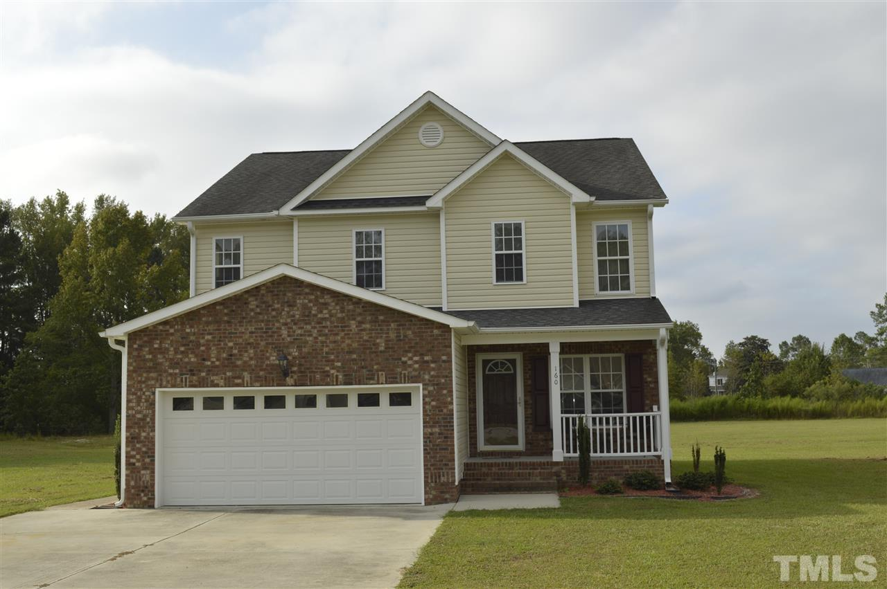 Photo of home for sale at 160 Tangueray Drive, Smithfield NC
