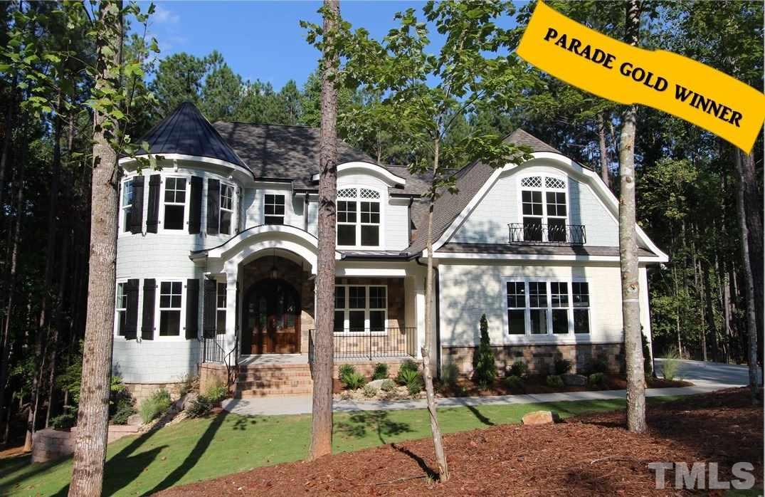 Photo of home for sale at 3579 Bragg Valley Lane, Wake Forest NC
