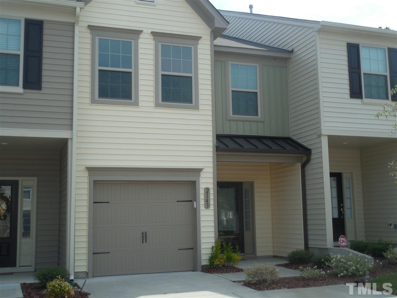Photo of home for sale at 2143 Sunny Cove Drive, Raleigh NC