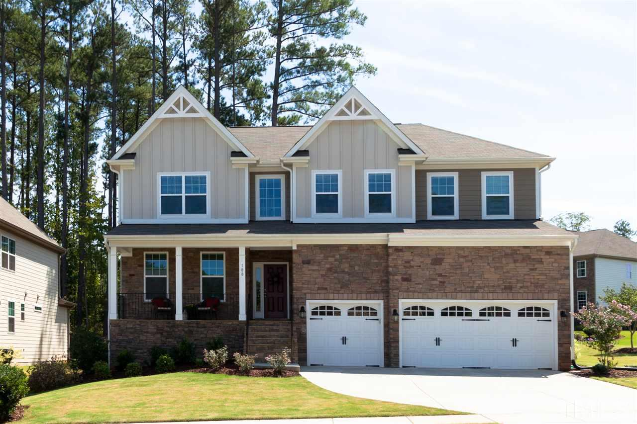 Photo of home for sale at 100 Ulverston Drive, Holly Springs NC