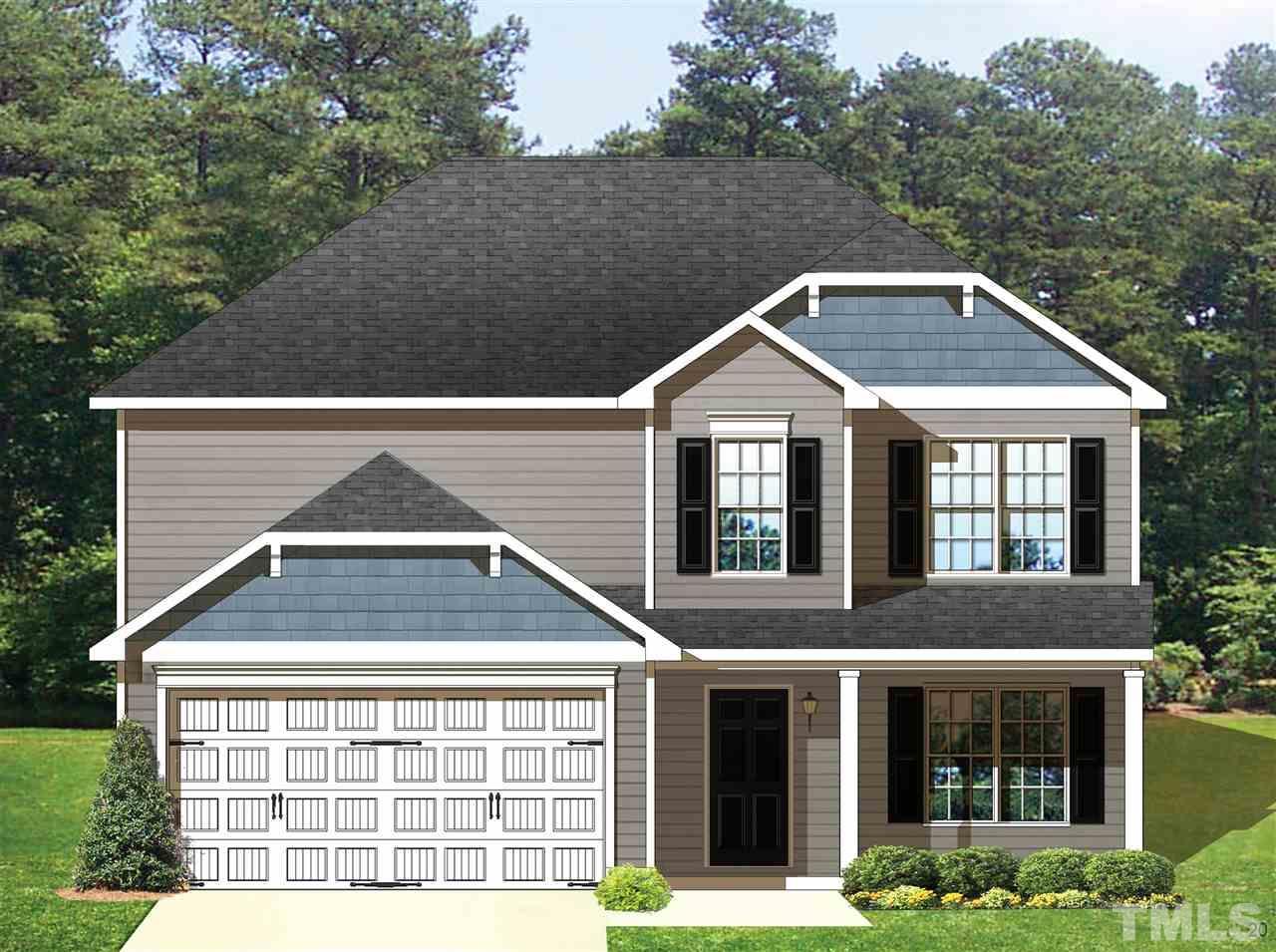 196 MEADOW HILLS Drive, Four Oaks, NC 27524