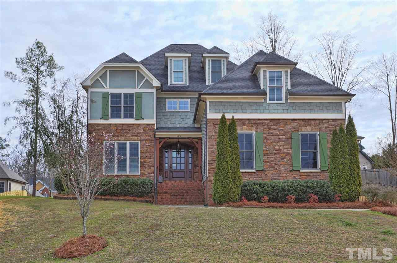 109 Gryffindor Lane, Holly Springs, NC 27540