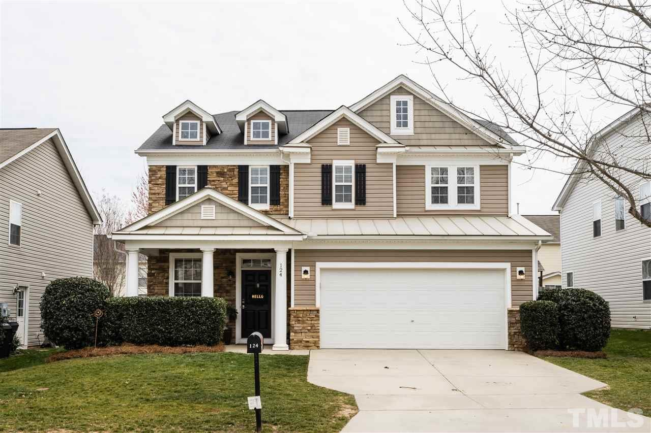 124 Milpass Drive, Holly Springs, NC 27540