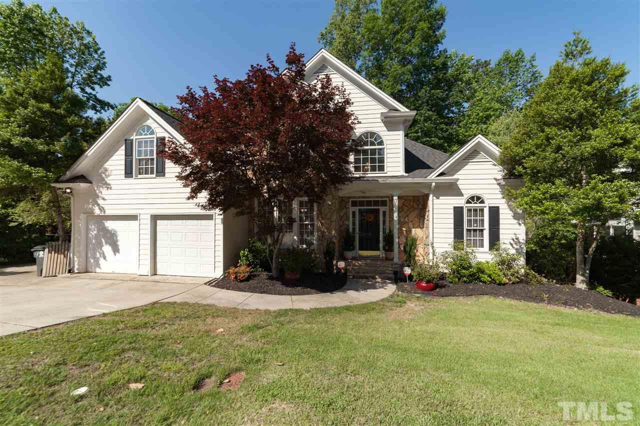 Quintessential transitional with main floor master tucked into a natural setting! Complete with bubbling brook, mature fruit & deciduous trees. And it doesn't stop there – fully finished walk out BASEMENT that is full of natural light with efficiency kitchen & full bath. Fresh paint/new carpet/upgrades throughout! Gourmet kitchen with keeping room + breakfast nook opens to vaulted family room! Master suite with trey ceiling & bathroom remodeled, & walk in closet! Ample space for all your craft & hobbies!