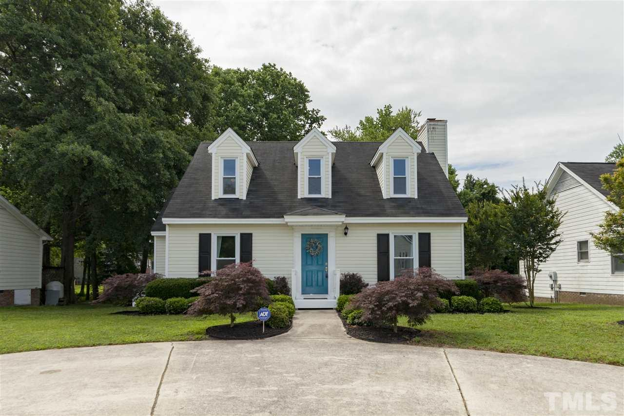 Really, you'll love this one - whether it is the Cape Cod charm, the SUPER deep backyard with brook & bridge, the completely updated kitchen (and rest of the house for that matter), the first floor master, or prime location to walk to downtown, this home will check your boxes off one by one! Vinyl siding & windows make it easy to maintain.  White shaker cabinets, solid surface counters & stainless appliances will have you swooning over the kitchen. Upstairs two bedrooms + updated bath!