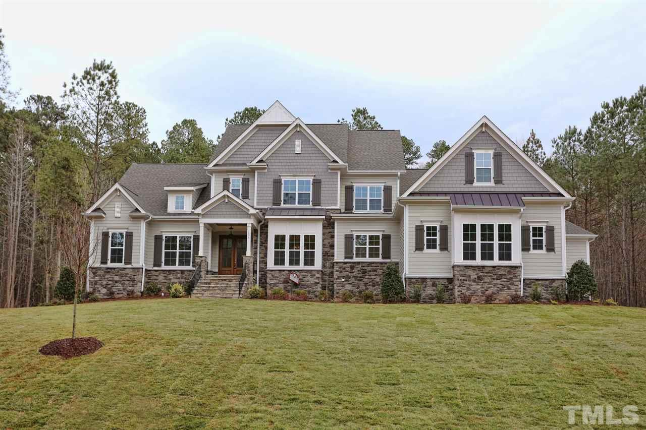 1536 Rock Dove Way, Falls Reserve, Raleigh NC (Homesite 5) - $875,000