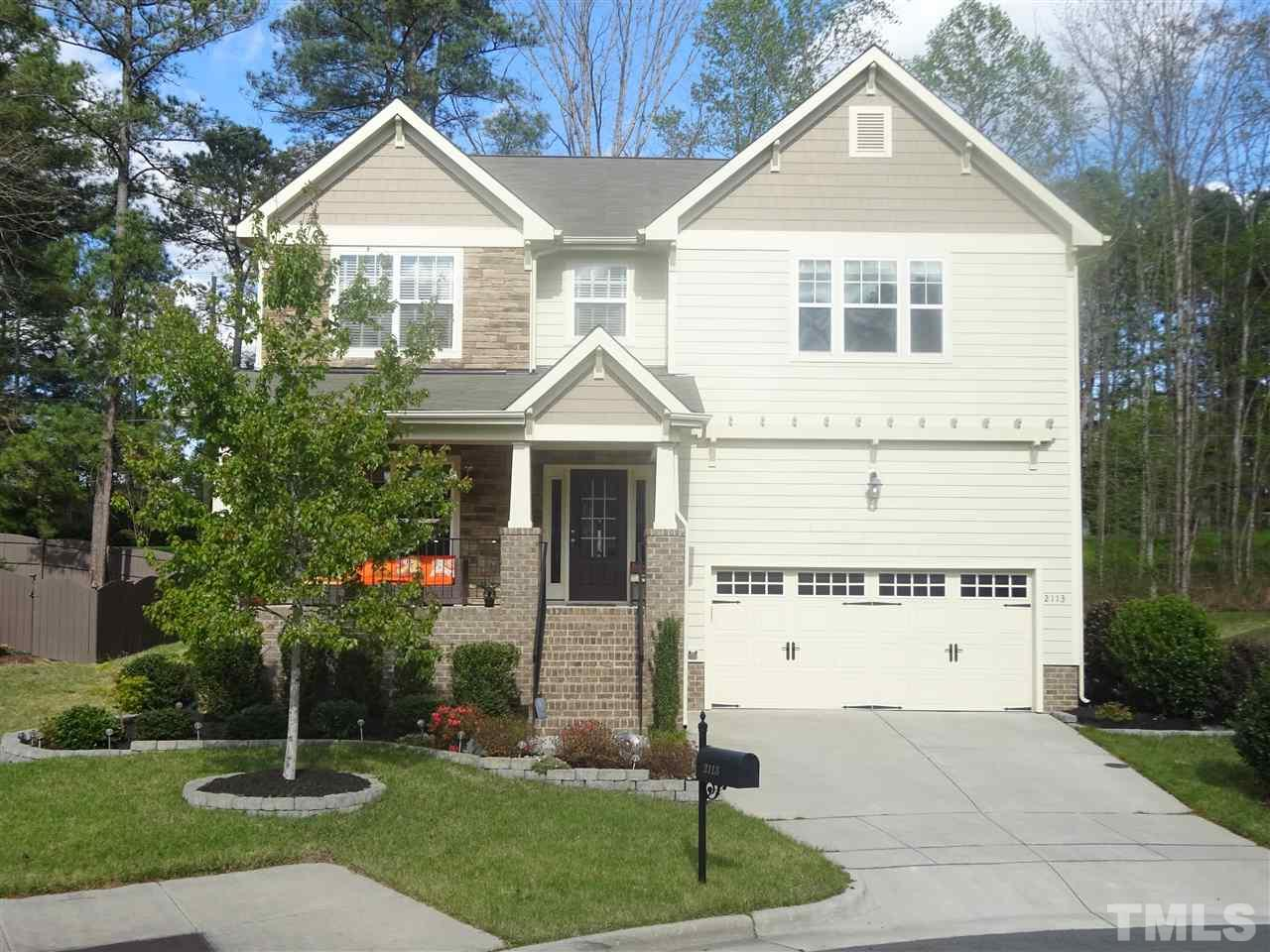 2113 Toad Hollow Trail, Apex, NC 27592