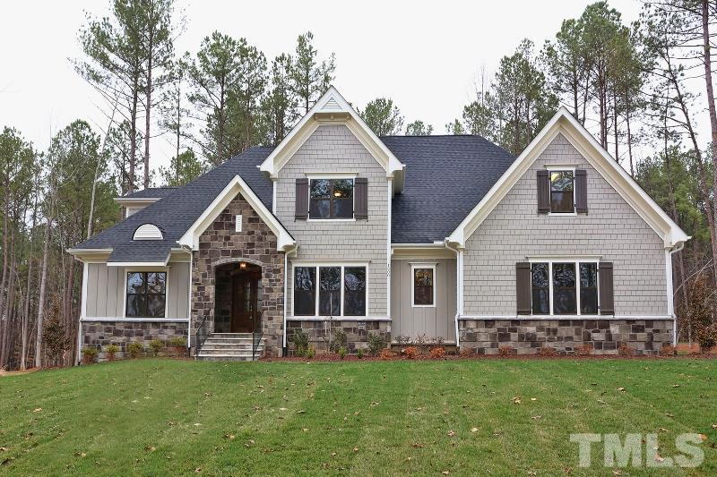 1500 Rock Dove Way, Falls Reserve, Raleigh NC (Homesite 12) - $800,000