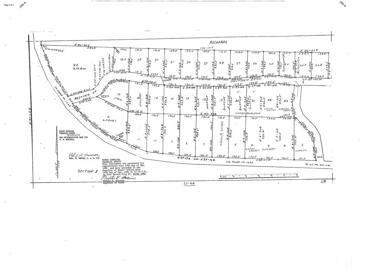 Property for sale at Lot 2 Dyking Road, Louisburg,  NC 27549