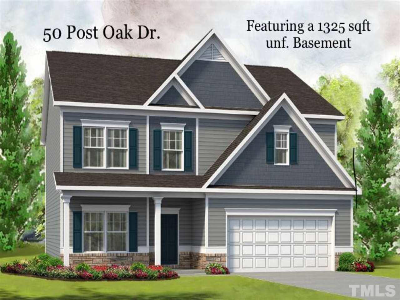 Property for sale at 50 Post Oak Drive, Louisburg,  NC 27549