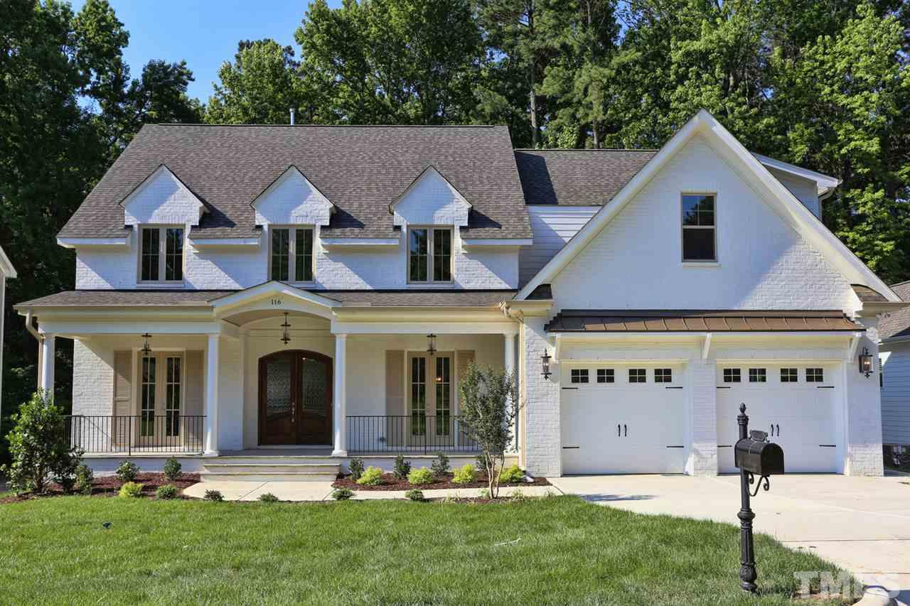 116 Crestview Road, Crestview Road, Raleigh NC (Homesite 2) - $789,900