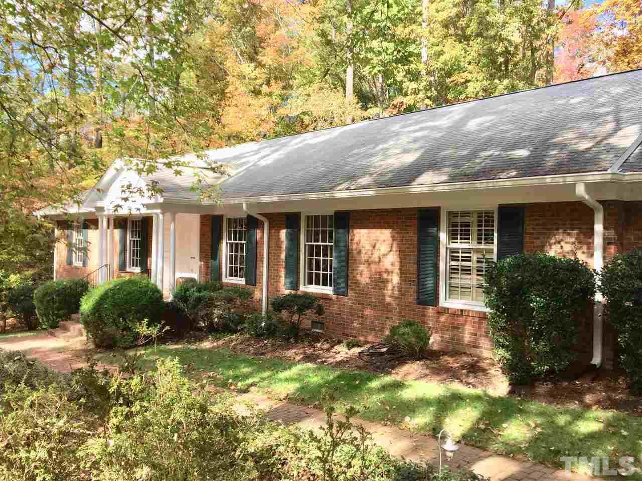 1706 Michaux Road, Chapel Hill, NC