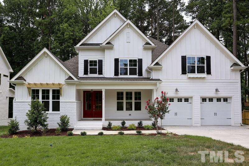 114 Crestview Road, North Hills, Raleigh NC (Homesite 1) - $800,000