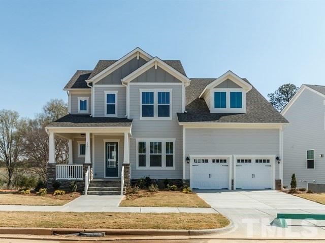 Photo of home for sale at 549 Lake Holding Street, Wake Forest NC