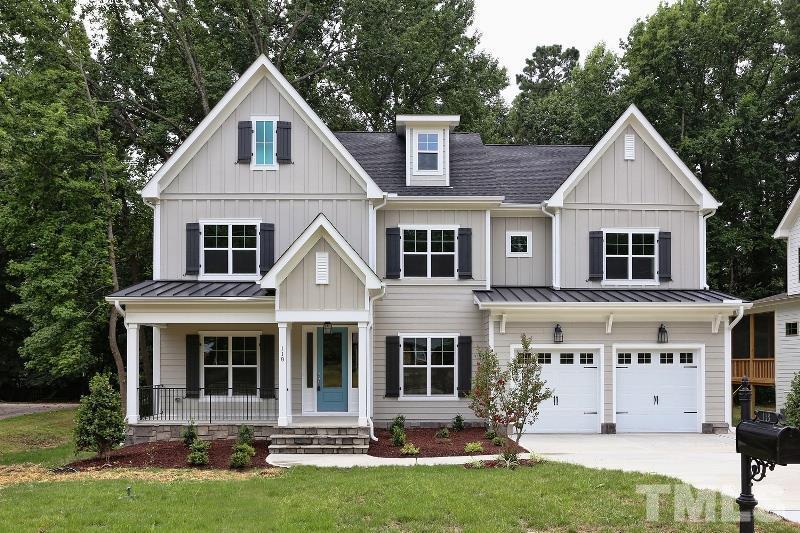 118 Crestview Road, Crestview Road, Raleigh NC (Homesite 3) - $790,000