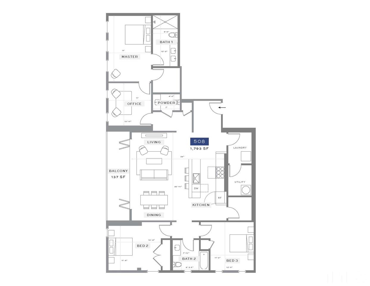 525 S WEST STREET #508, RALEIGH, NC 27601  Photo