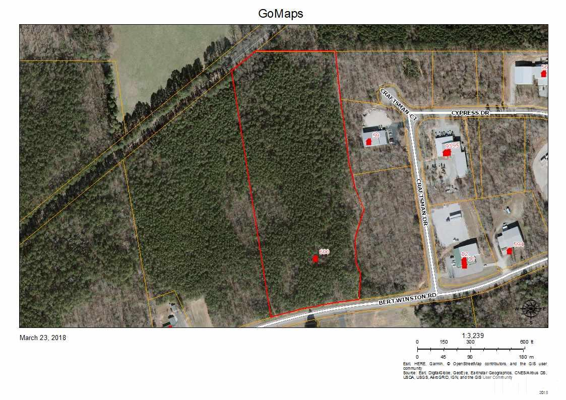 Property for sale at 690 Bert Winston Road, Youngsville,  NC 27525