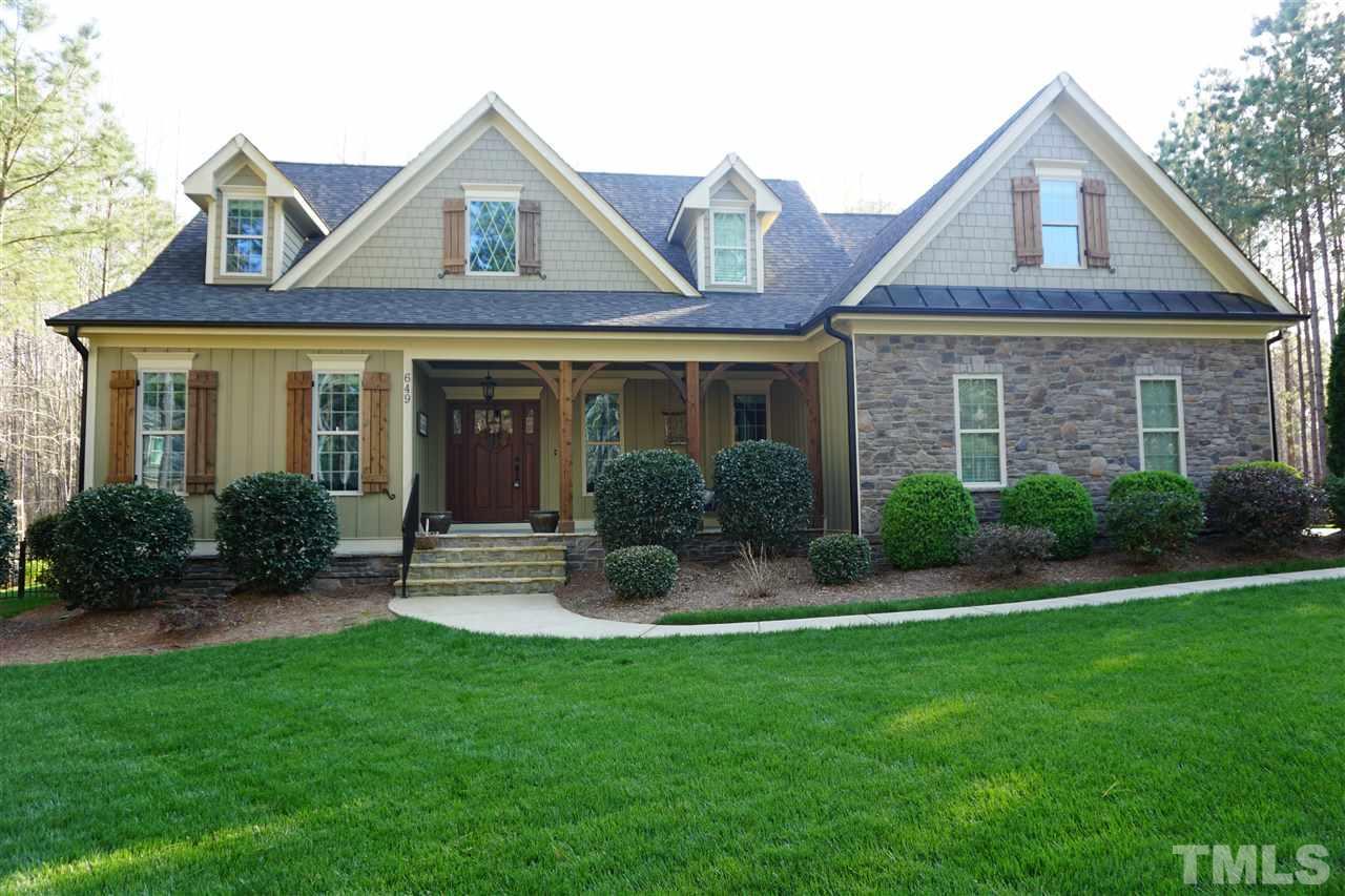 Property for sale at 649 Willard Drive, Creedmoor,  NC 27522