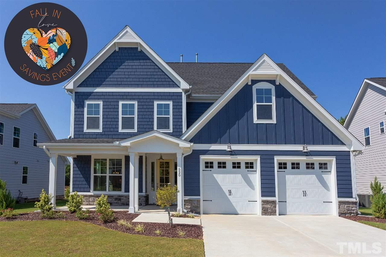 520 Barrington Hall Drive, Barrington, Rolesville NC (Homesite 7) - $424,500