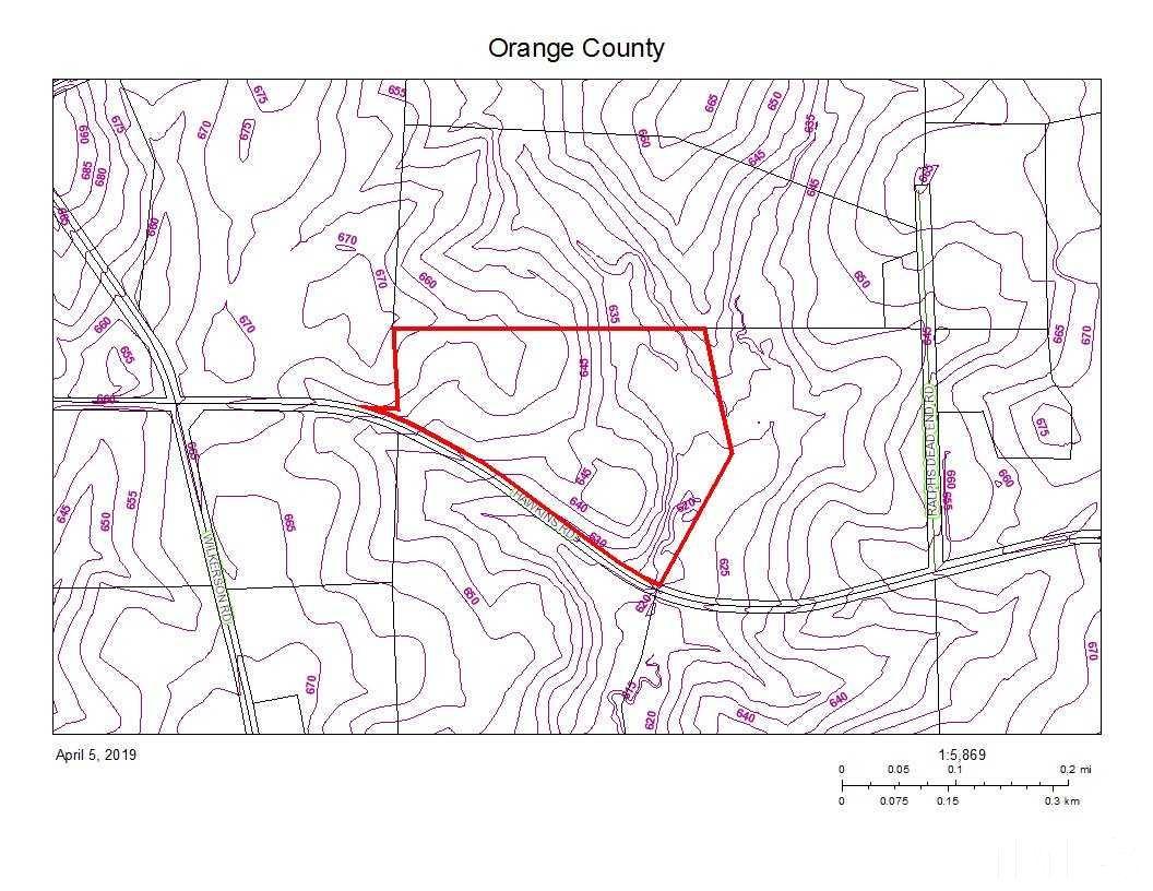 Property for sale at Hawkins Road, Hurdle Mills,  NC 27541
