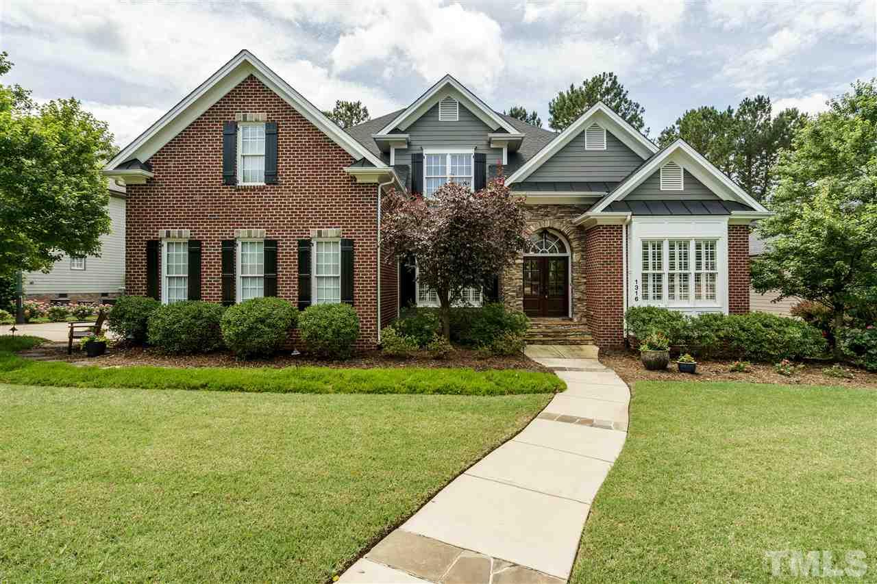 Property for sale at 1316 Heritage Heights Lane, Wake Forest,  NC 27587