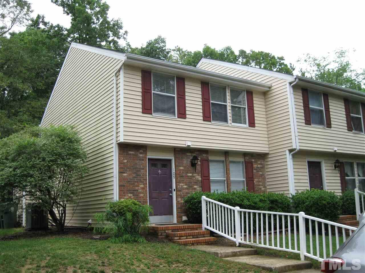 109 LUXON PLACE, CARY, NC 27513
