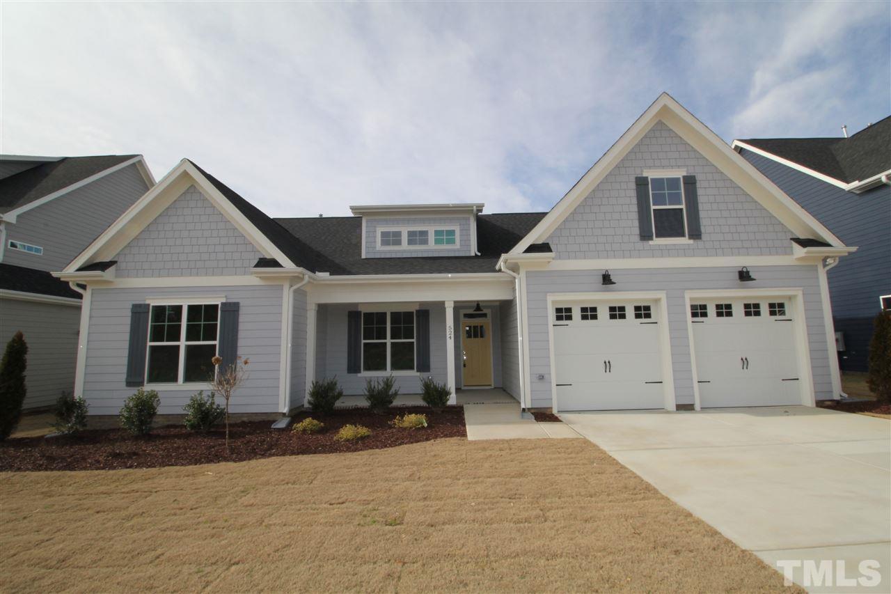 New homes for sale in Barrington Rolesville NC - 500 Barrington Hall ...