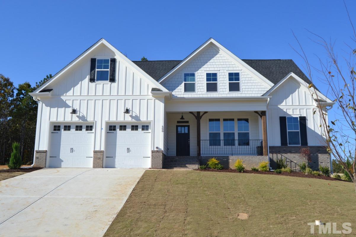 500 Barrington Hall Drive, Barrington, Rolesville NC (Homesite 12) - $450,000