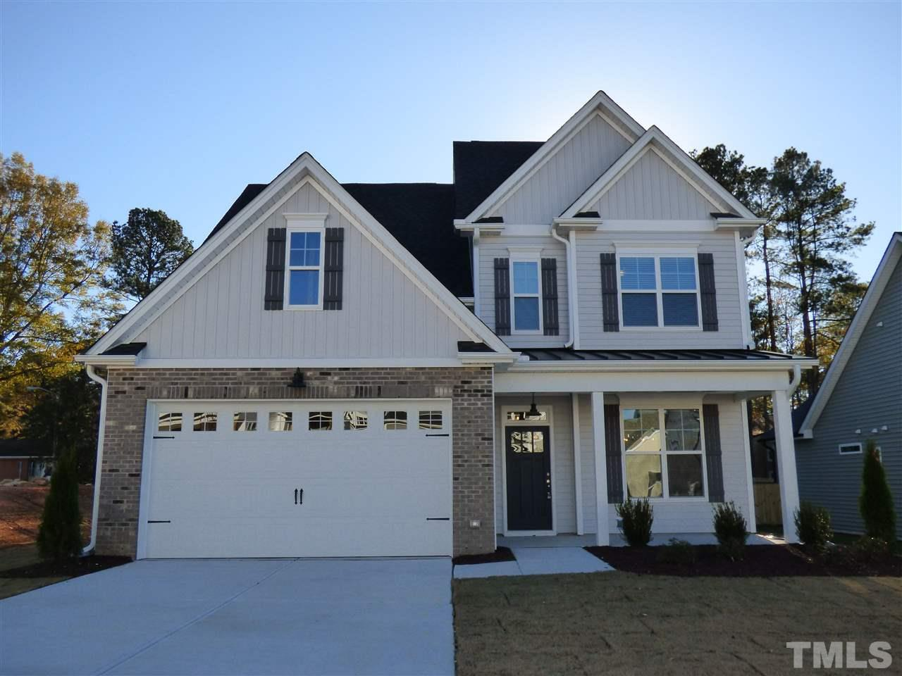 353 Joyner Bluff Drive, The Bluffs at Joyner Park, Wake Forest NC (Homesite 7) - $362,043