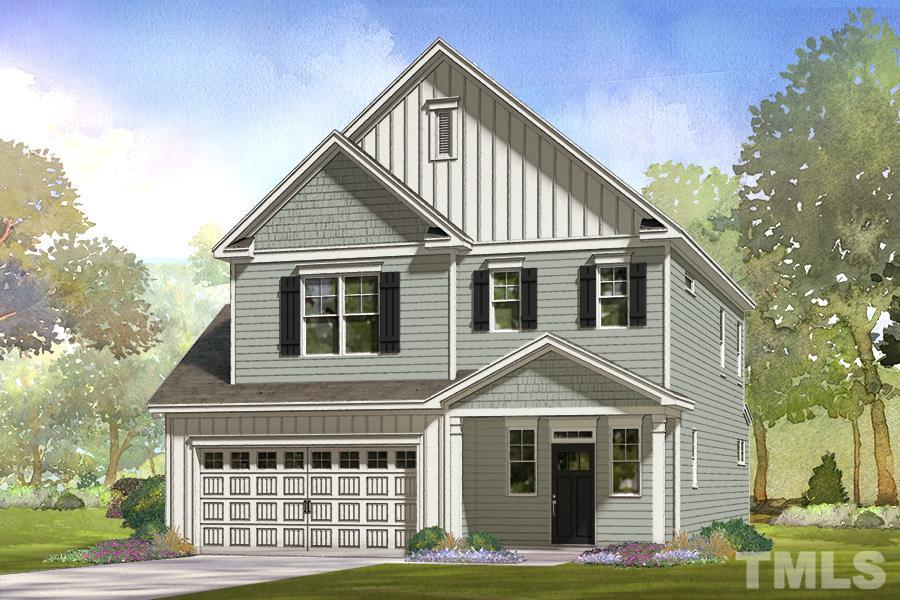 349 Rocky Crest Lane, The Bluffs at Joyner Park, Wake Forest NC (Homesite 39) - $300,000